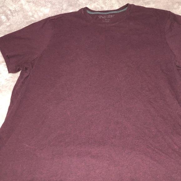 Banana Republic Burgundy Short Sleeve Shirt